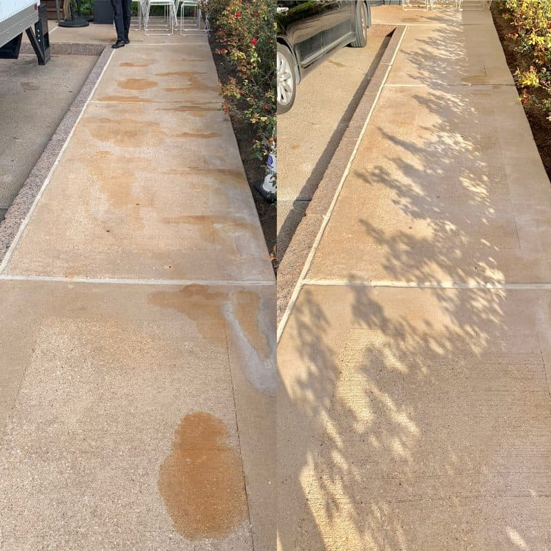 best rust removal on concrete