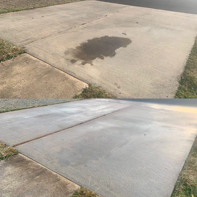 professional oil stain removal