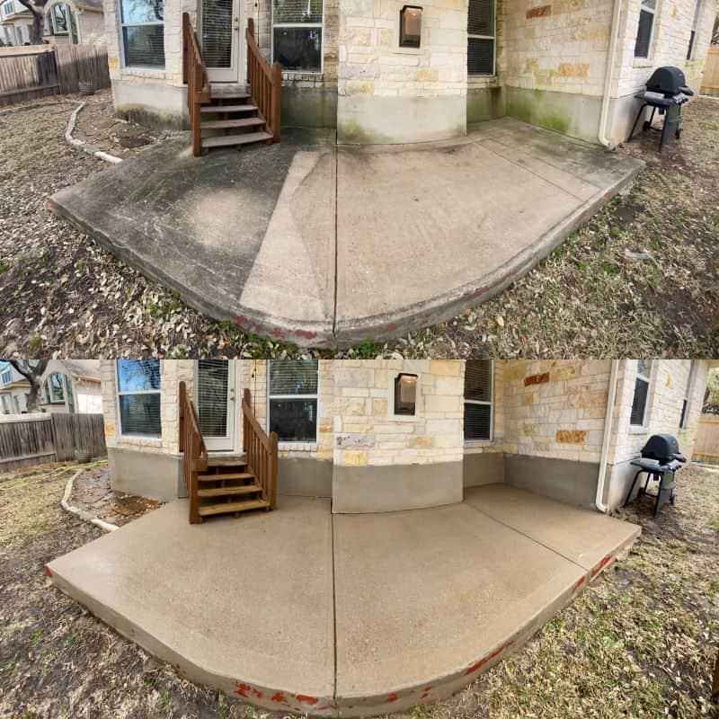 austin texas concrete cleaning