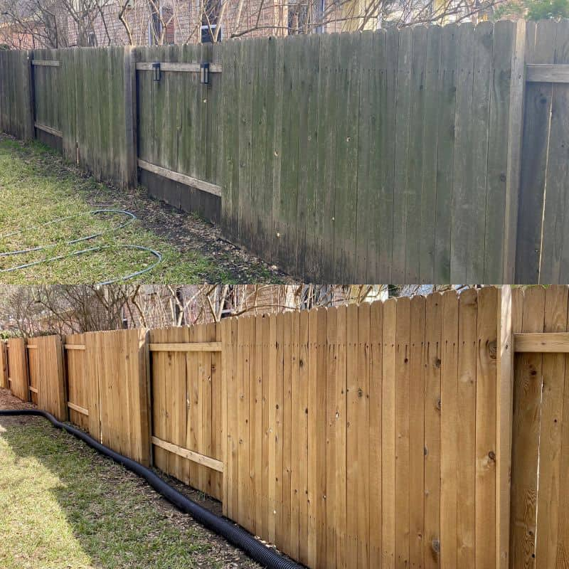 austin texas fence cleaning professional