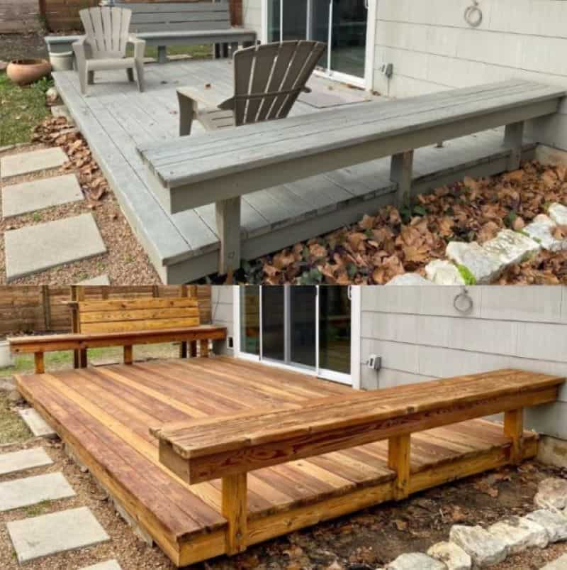 austin texas wood restoration deck