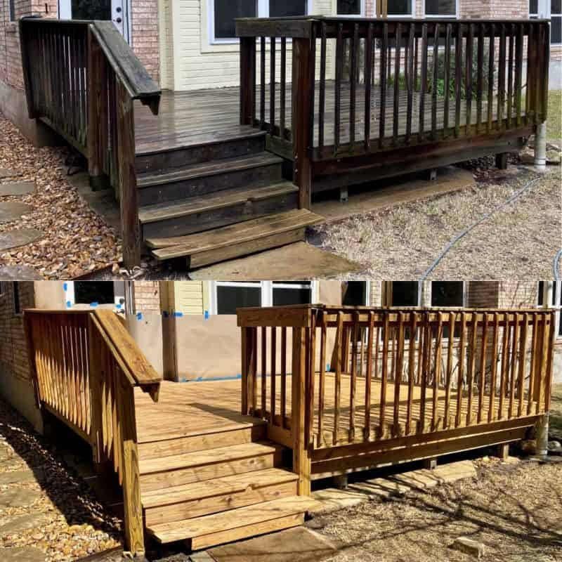 professional deck cleaning austin