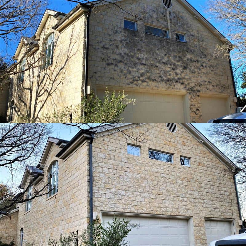 professional limestone house cleaning